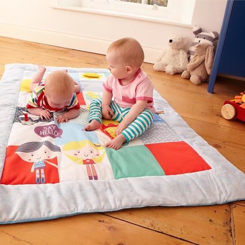 Baby Sensory Say Hello Patchwork Activity Mat