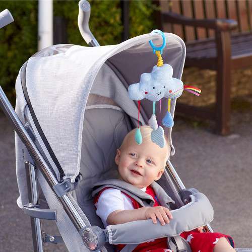 Baby Sensory Say Hello Cloud Stroller Toy