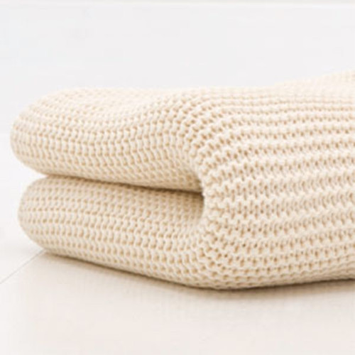 Cuddles Collection Cotbed Cellular Blanket - Cream