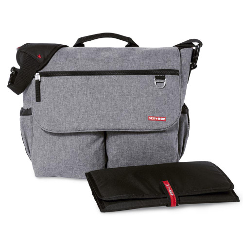 Skip Hop Dash Signature Changing Bag - Heather Grey - contents