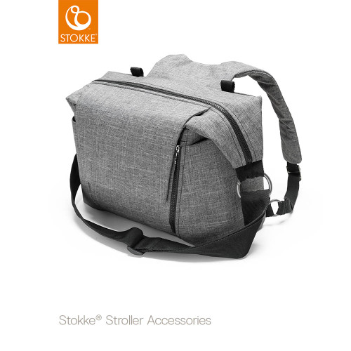 Stokke® Stroller Changing Bag - Black Melange