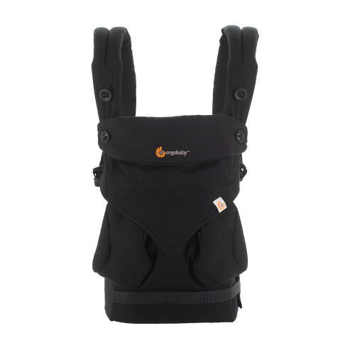 Ergobaby 360 Carrier - Pure Black (front)