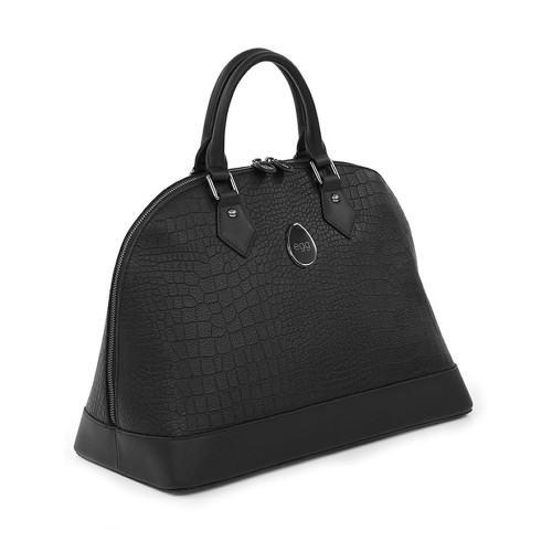 egg Jurassic changing bag - black