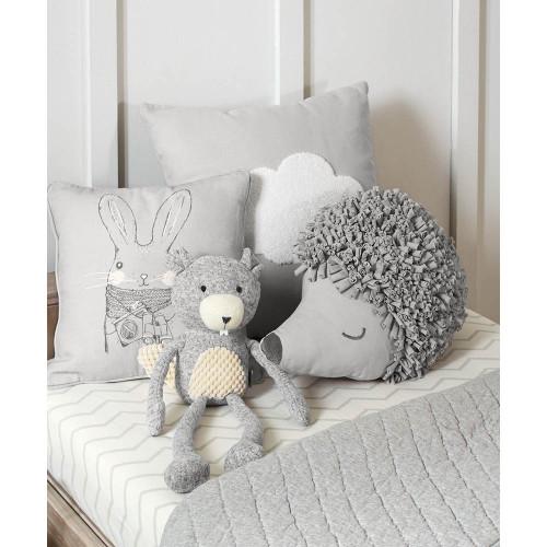 Mamas & Papas Cushion - Hedgehog (lifestyle bed)