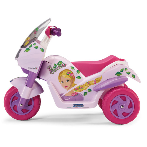 Peg Perego Raider Princess 6V Battery Operated Motorbike (side)