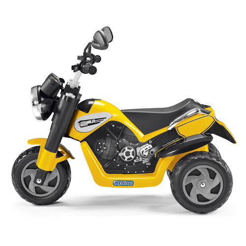 Peg Perego Scrambler Ducati 6V Battery Operated Motorbike (side)