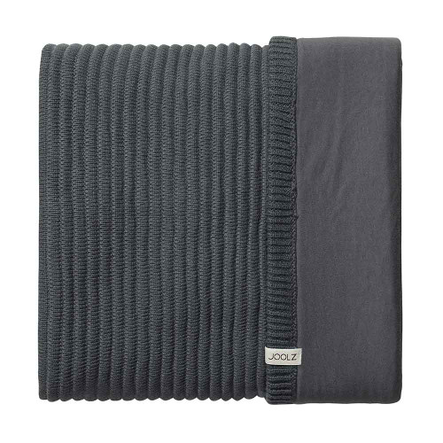 Joolz Essentials Blanket - Ribbed Anthracite