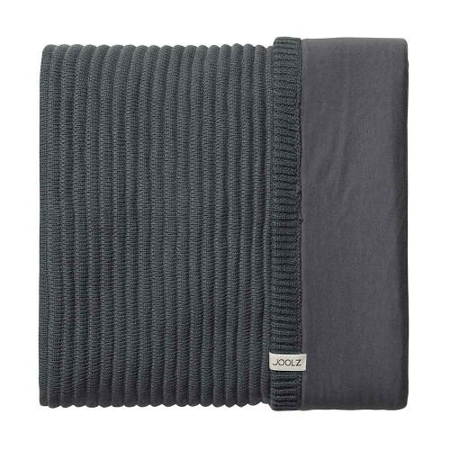 Joolz Essentials Blanket - Ribbed Anthracite