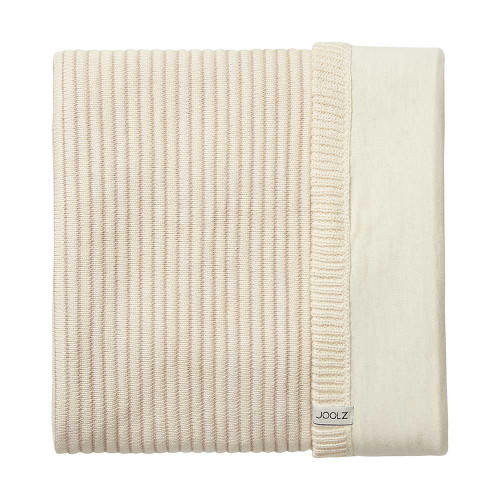Joolz Essentials Blanket - Ribbed Off White