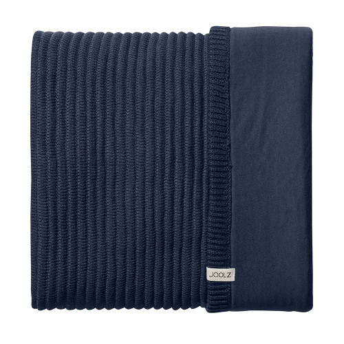 Joolz Essentials Blanket - Ribbed Blue