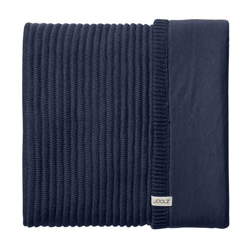 Joolz Essentials Blanket - Ribbed Blue