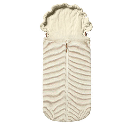 Joolz Essentials Nest - Ribbed Off White