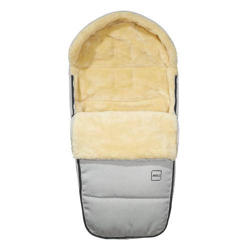 Joolz Universal Polar Footmuff - Silver (open)