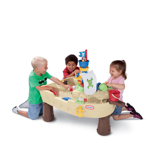 Little Tikes Anchors Away Pirate Ship in use
