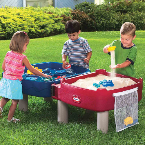 Little Tikes Easy-Store Sand & Water Table Lifestyle