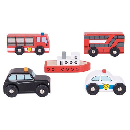 Bigjigs City Vehicles