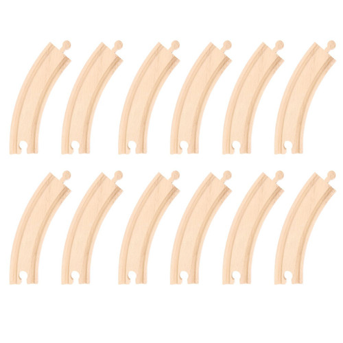Bigjigs Long Curves (Pack of 12)
