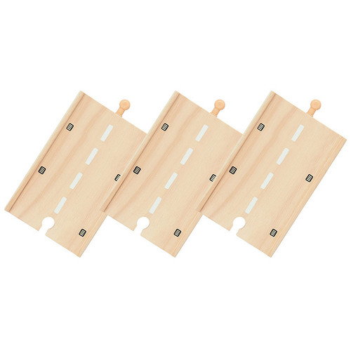 Bigjigs Long Roadway (Pack of 3)
