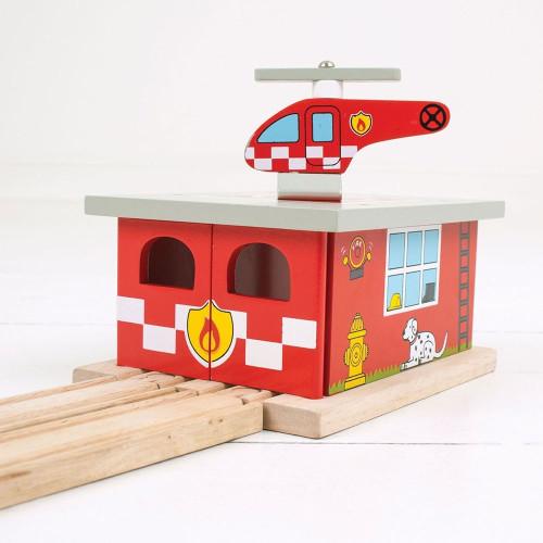 Bigjigs Fire Station Shed