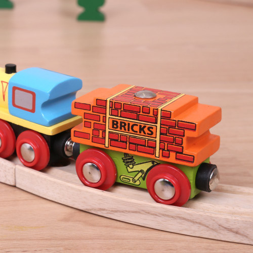 Bigjigs Bricks Wagon