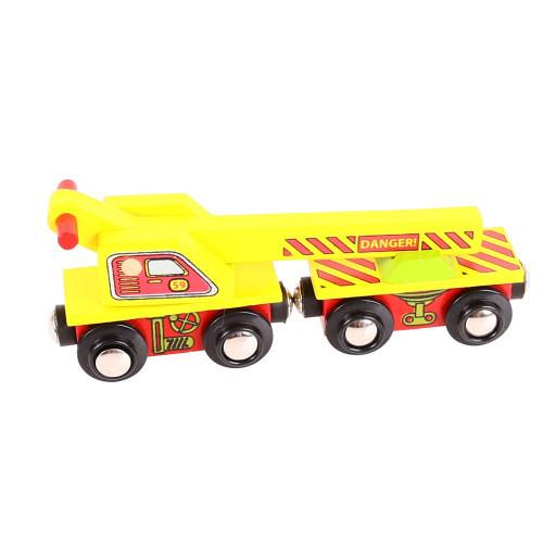 Bigjigs Crane Wagon