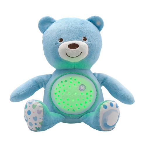 Chicco First Dreams Bear Night Projector - Light Blue