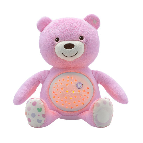 Chicco First Dreams Bear Night Projector - Pink