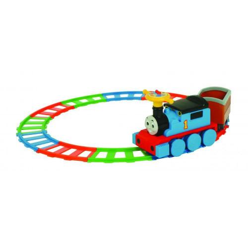 MV Sports Thomas 6V Train On 22 Piece Track