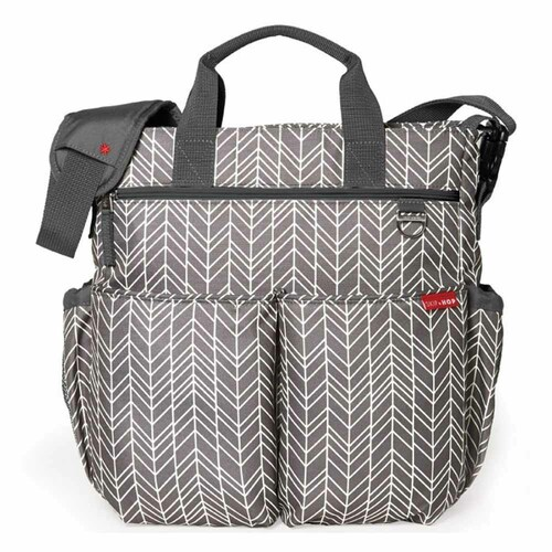 Skip Hop Duo Signature Changing Bag - Grey Feather