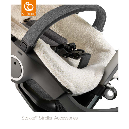 Stokke® Stroller Terry Cloth Cover - White