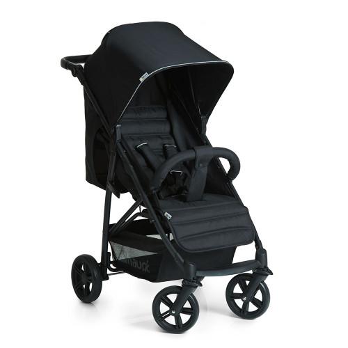 Hauck Rapid 4 Stroller - Caviar/Black Front