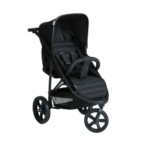 Hauck Rapid 3 Stroller - Caviar/Black Front