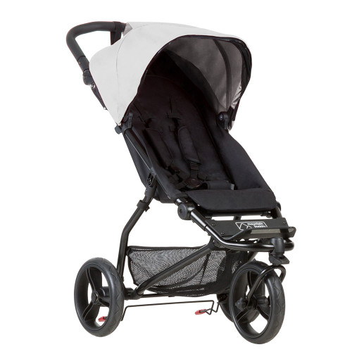 Mountain Buggy Mini - Silver Front