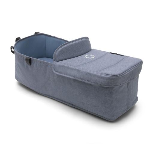 Bugaboo Donkey 2 Carrycot Fabric Complete - Blue Melange