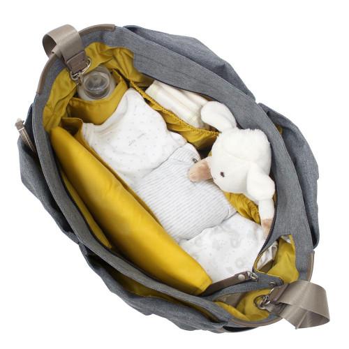 Koodi Lottie Changing Bag - Beige inside