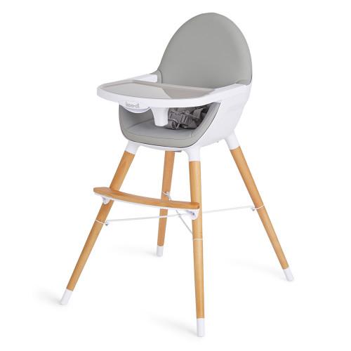 Koo-di Duo Wooden Highchair - Grey