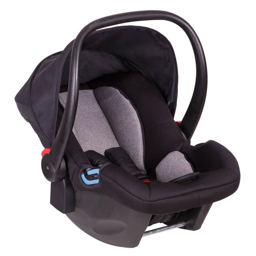 Phil and teds alpha v2 car seat - black/grey marl