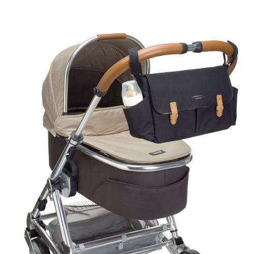 Storksak Travel Stroller Organiser - Black