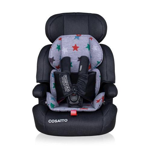 Cosatto Zoomi Group 123 Car Seat - Grey Megastar