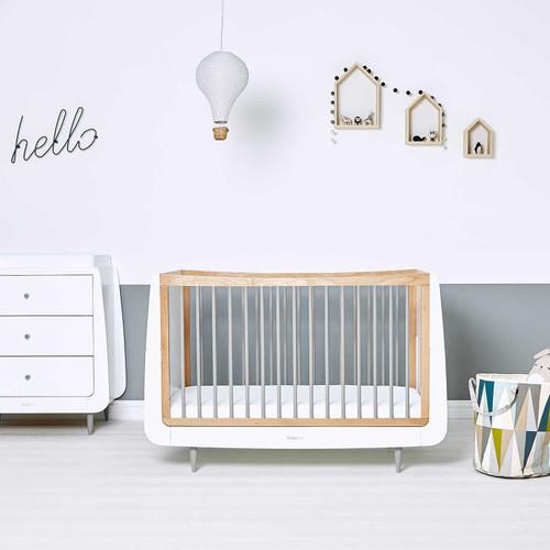 SnuzKot Skandi 2 Piece Nursery Furniture Set - Grey