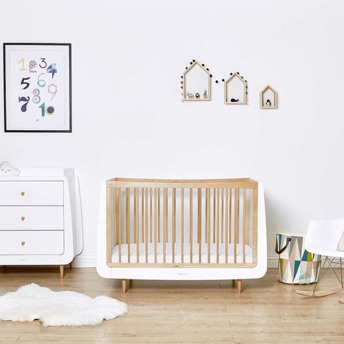 SnuzKot Skandi 2 Piece Nursery Furniture Set - Natural