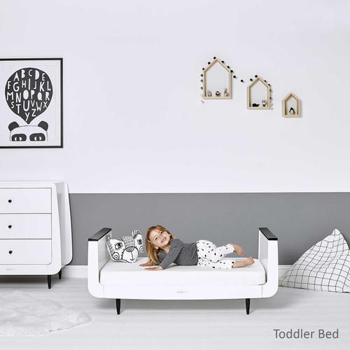 SnuzKot Skandi 2 Piece Nursery Furniture Set - Mono