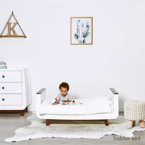 SnuzKot Luxe 2 Piece Nursery Furniture Set - Espresso
