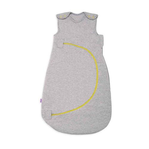 SnuzPouch Sleeping Bag 1.0 Tog - Grey Pop Lime