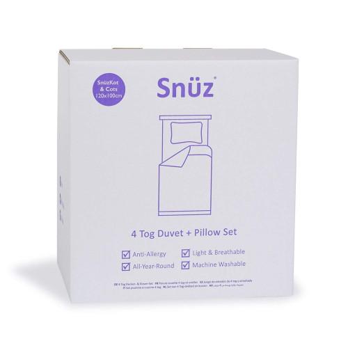 Snuz Duvet and Pillow Cot Set 4.0 Tog
