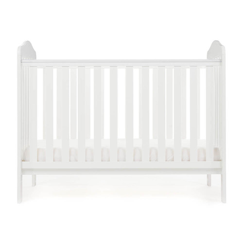 Obaby Ludlow Cot - White (low)