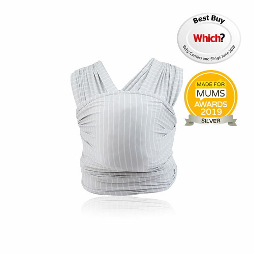 Ergobaby Aura Wrap - Grey Stripes
