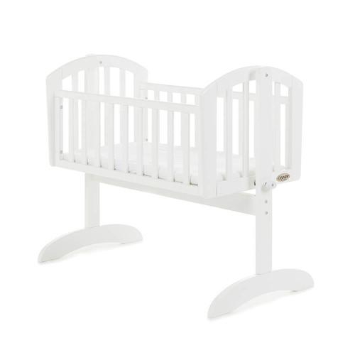 Obaby Sophie Swinging Crib + Mattress - White