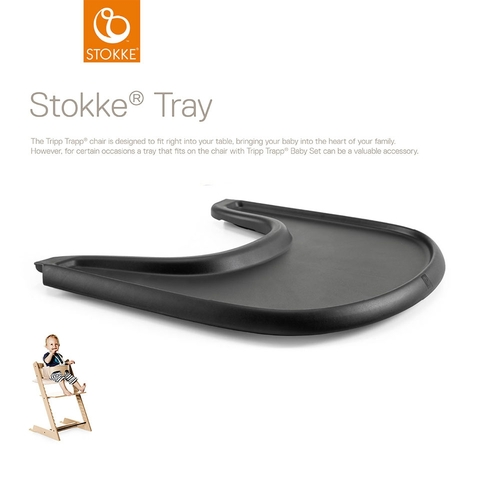 Stokke® Tripp Trapp® Tray - Black - description