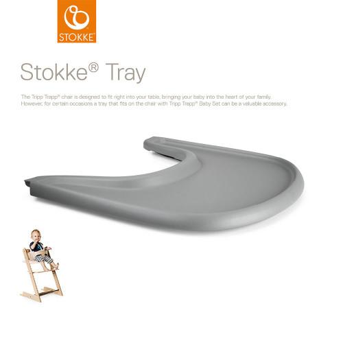 Stokke® Tripp Trapp® Tray - Storm Grey - (with description)